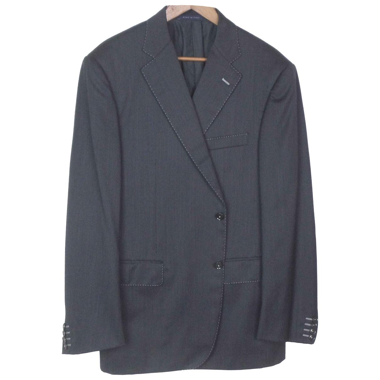 Pal Zileri N Grey Wool jacket  for Men 56 FR
