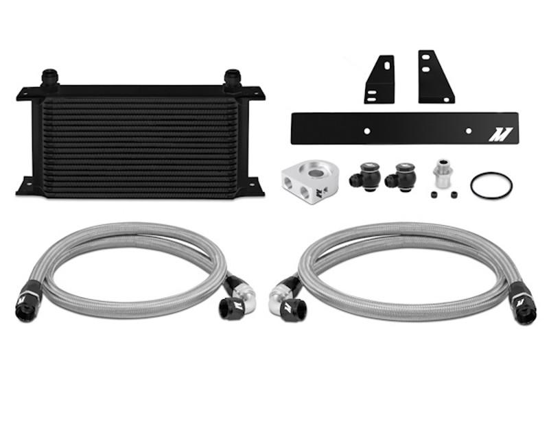 Mishimoto MMOC-370Z-09BK Black Oil Cooler Kit Nissan 370Z 3.7L 09-14