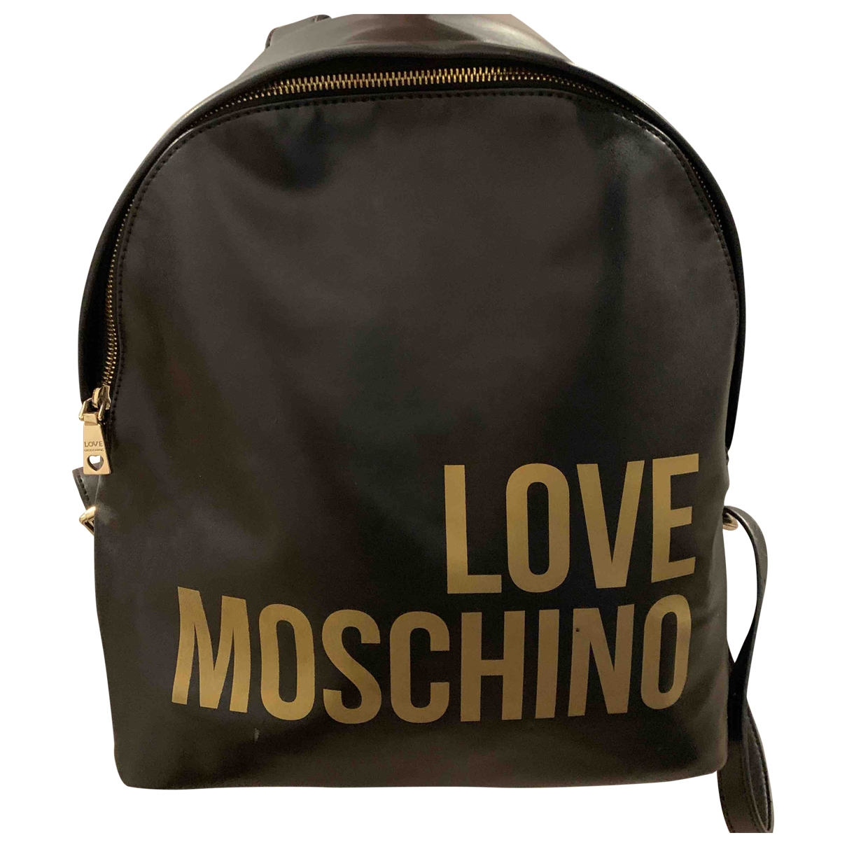 Moschino \N Black Leather handbag for Women \N