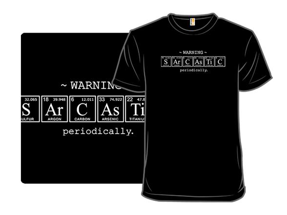 Sarcastic T Shirt