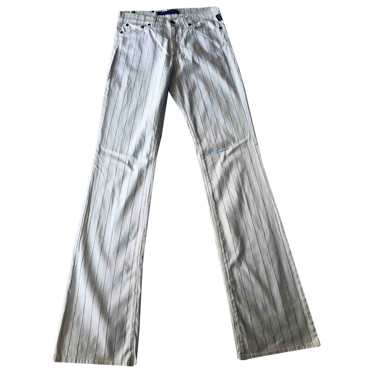 Pantalon recto Versace Jeans