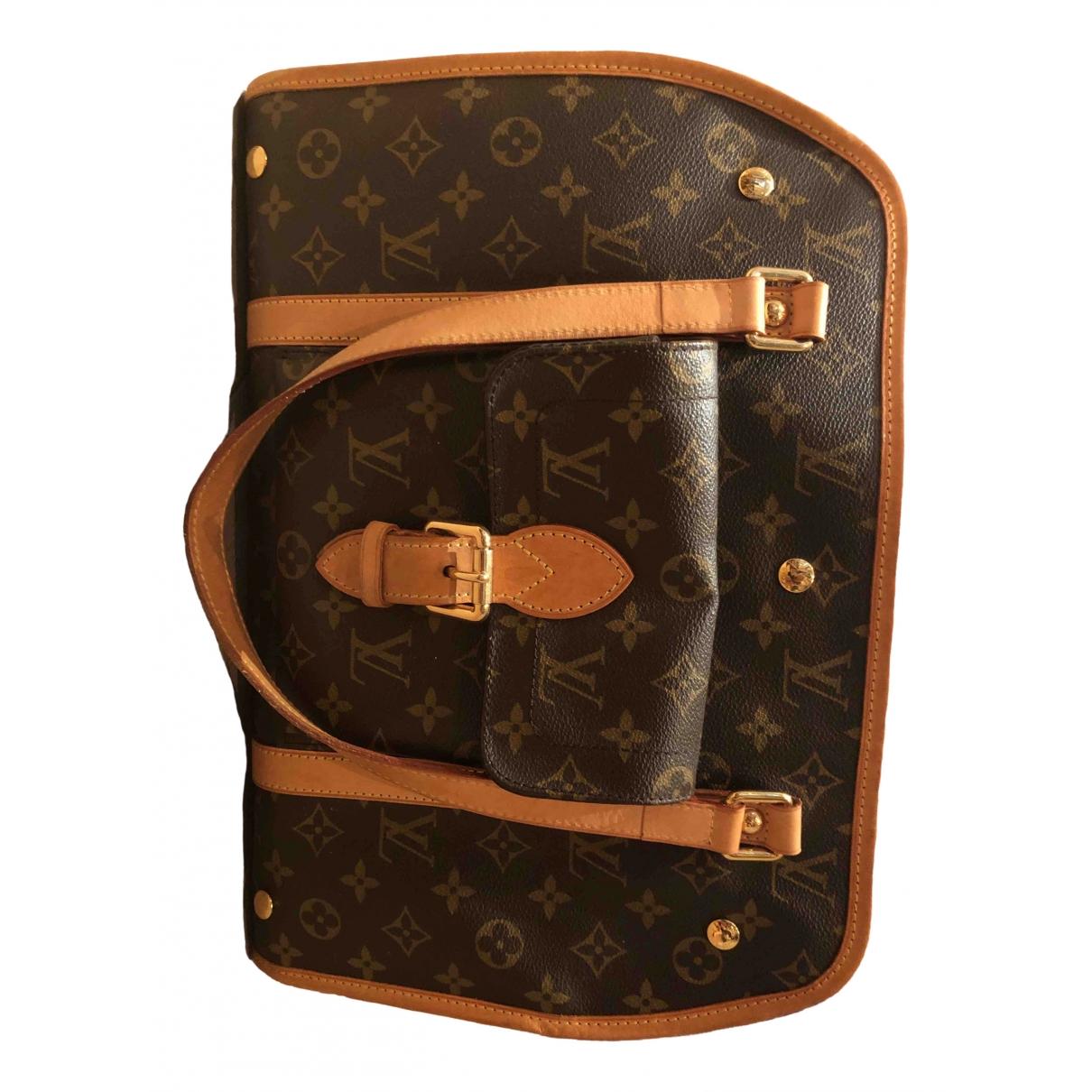 Louis Vuitton - Accessoires Sac Baxter pour lifestyle en coton - marron