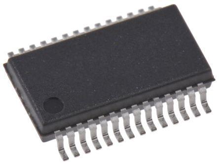 Cypress Semiconductor CY7C65213-28PVXIT, USB Controller, 3Mbit/s, USB to UART, 3.3 V, 5 V, 28-Pin SSOP (1000)