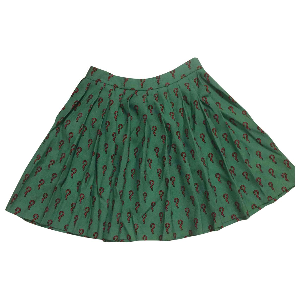 Au Jour Le Jour \N Green Wool skirt for Women 42 IT