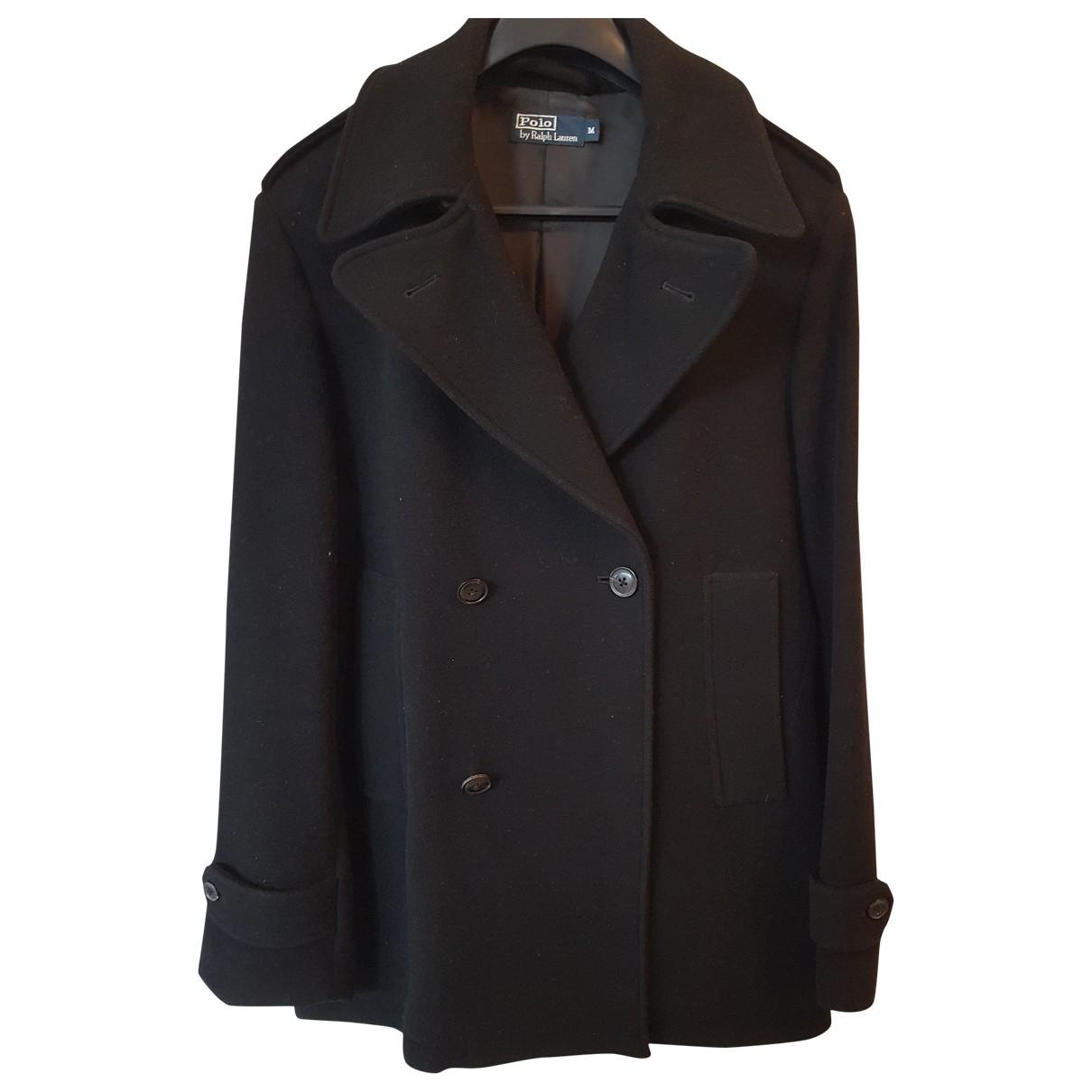 Polo Ralph Lauren \N Maentel in  Schwarz Wolle