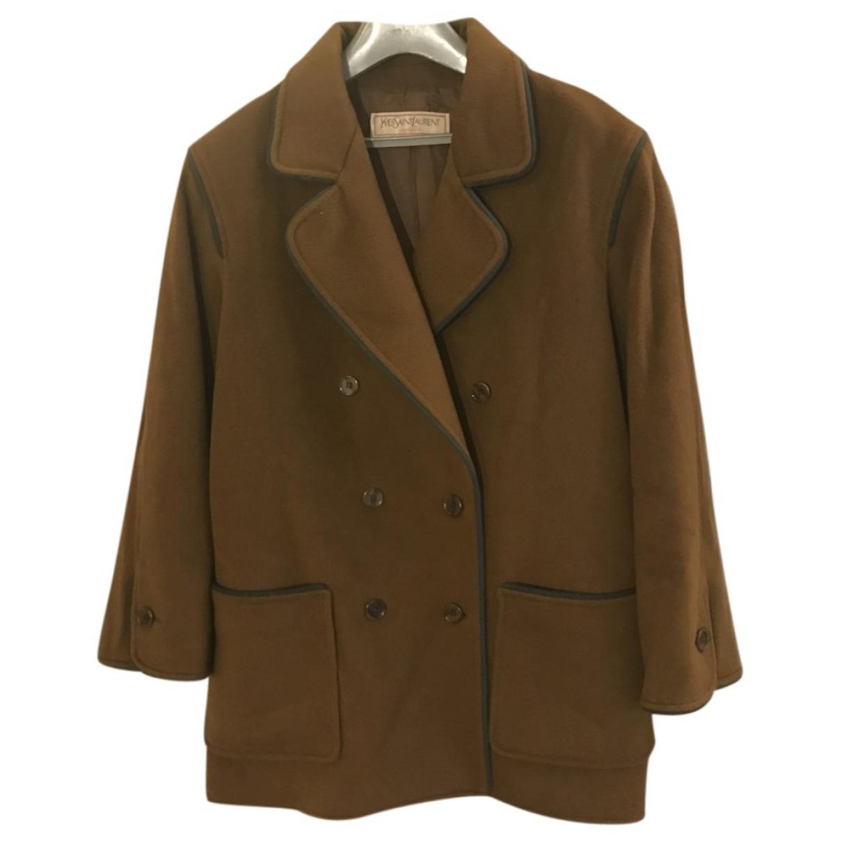 Yves Saint Laurent \N Wool coat for Women 42 FR