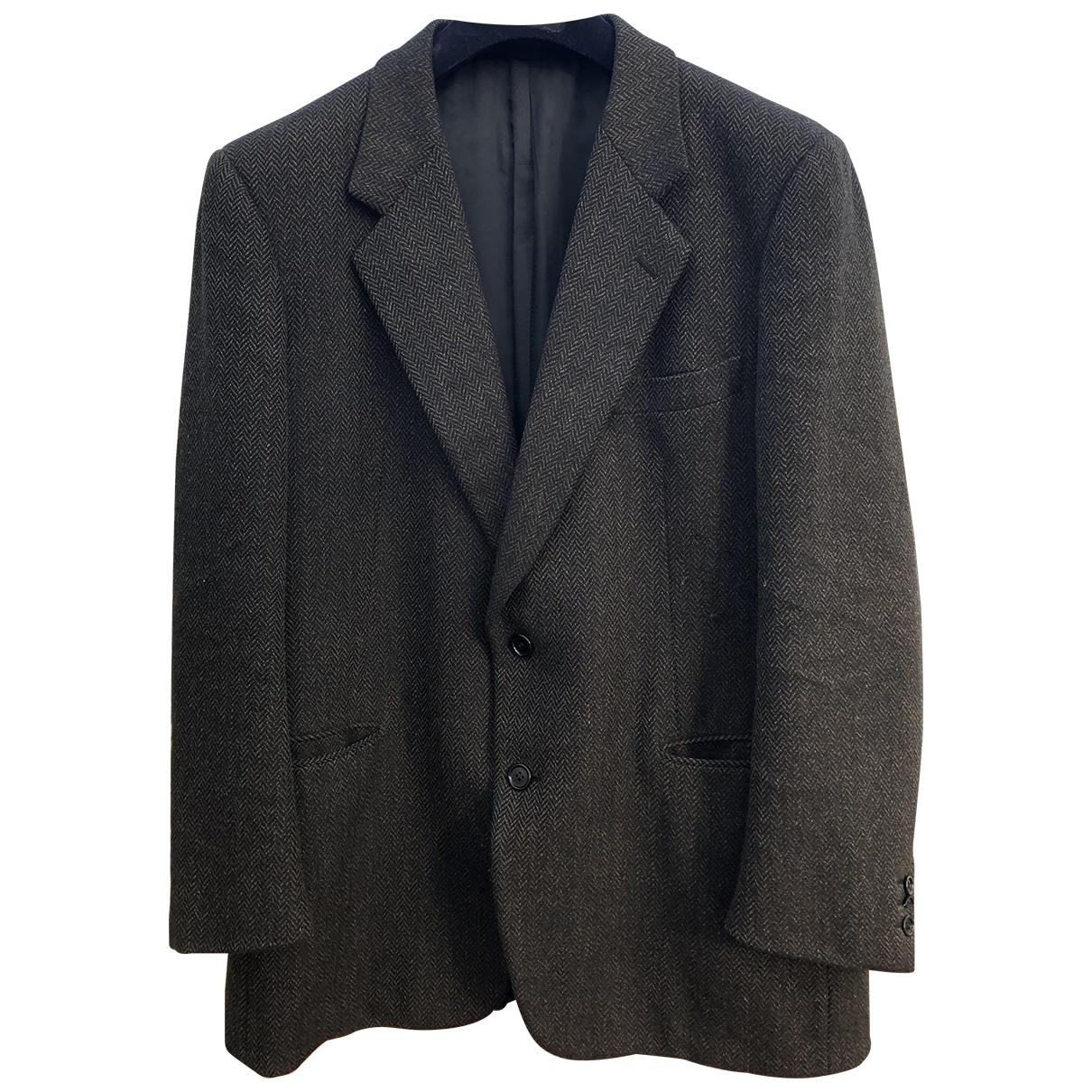 Burberry \N Jacke in  Gruen Wolle