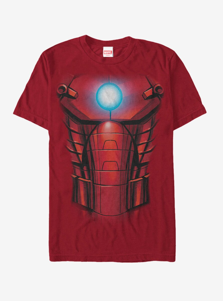 Marvel Iron Man Arc Reactor Costume T-Shirt
