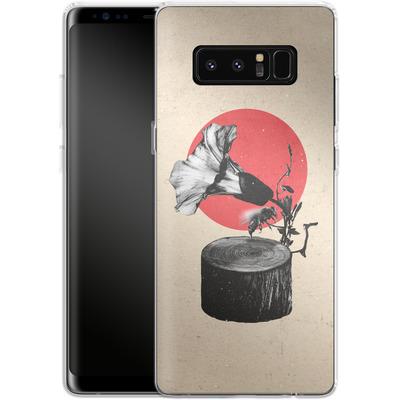Samsung Galaxy Note 8 Silikon Handyhuelle - Gramophone von Ali Gulec