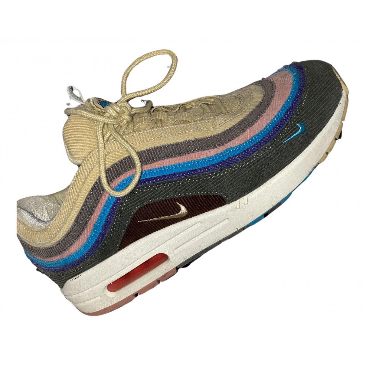 Nike Air Max 1/97 Sean Wotherspoon Sneakers in  Bunt Leinen