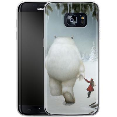 Samsung Galaxy S7 Edge Silikon Handyhuelle - Hopeless Wanderer von Dan May