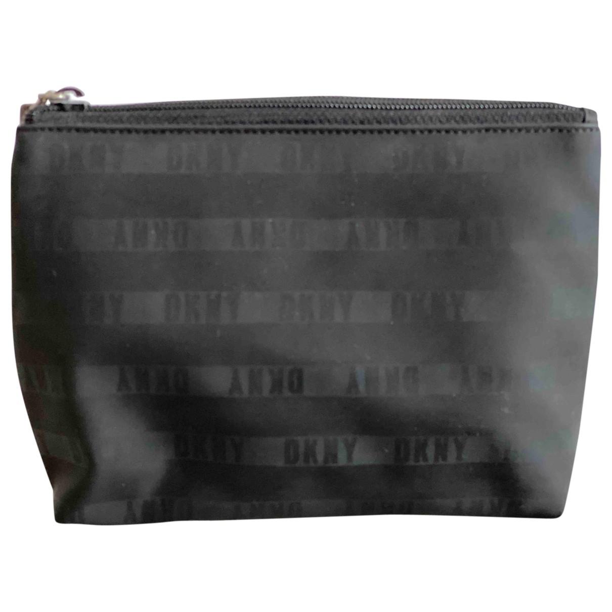 Dkny \N Clutch in  Schwarz Polyester
