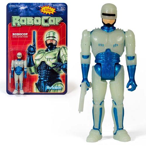 RoboCop Glow in the Dark RoboCop 3 3/4-Inch ReAction Figure - NYCC Exclusive