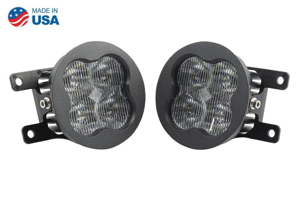 Diode Dynamics DD6177-ss3fog-0901-GBFG SS3 LED Fog Light Kit for 2012-2016 Fiat 500 White SAE/DOT Fog Sport