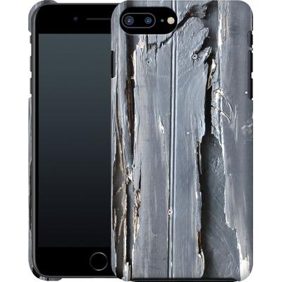 Apple iPhone 8 Plus Smartphone Huelle - Wood Black Fence von Brent Williams