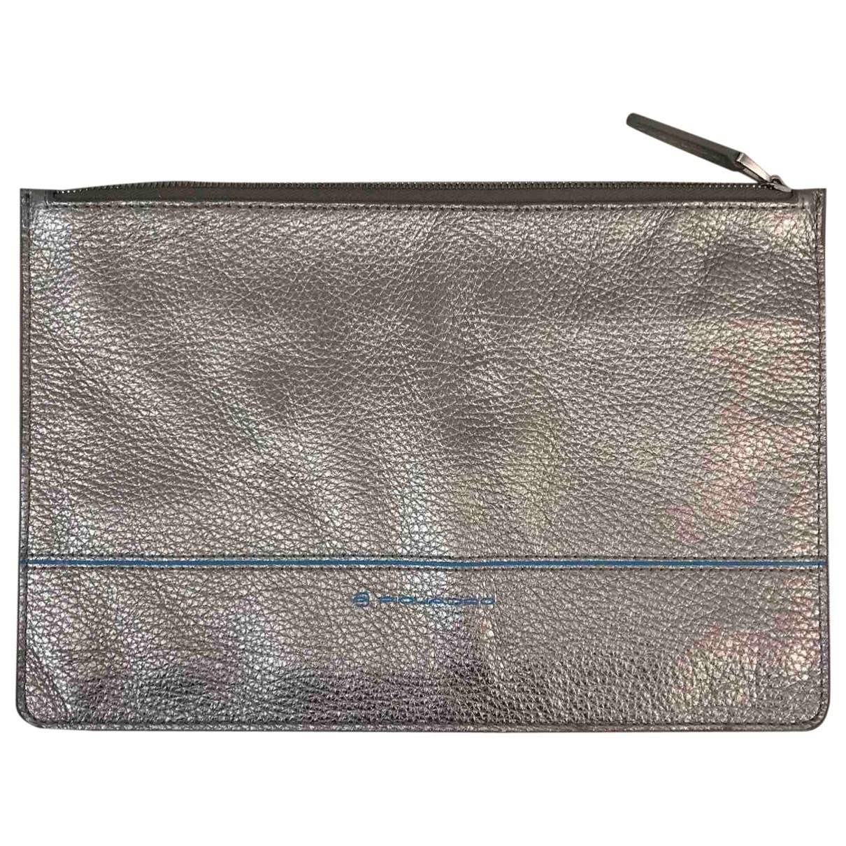- Accessoires   pour lifestyle en cuir - argente