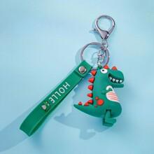 Guys Dinosaur Charm Keychain