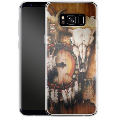 Samsung Galaxy S8 Silikon Handyhuelle - Teri Rosario - Echo of the Buffalo von TATE and CO