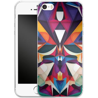 Apple iPhone 5s Silikon Handyhuelle - Emotion in Motion von Georgiana Teseleanu