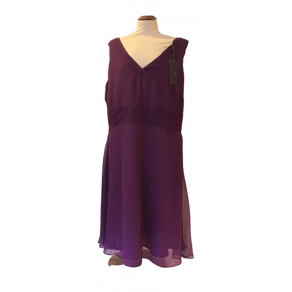S Oliver \N Kleid in  Lila Baumwolle
