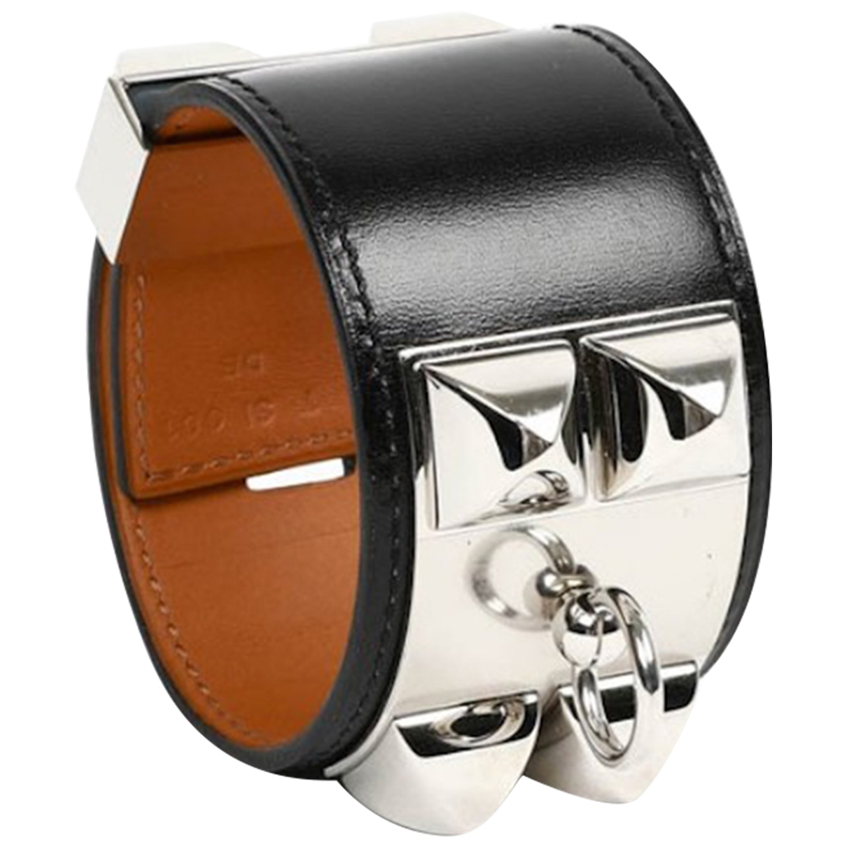 Hermès Collier de chien  Black Leather bracelet for Women \N