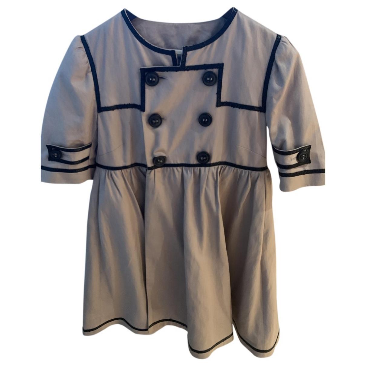 Dsquared2 \N Beige Cotton jacket for Women 42 IT
