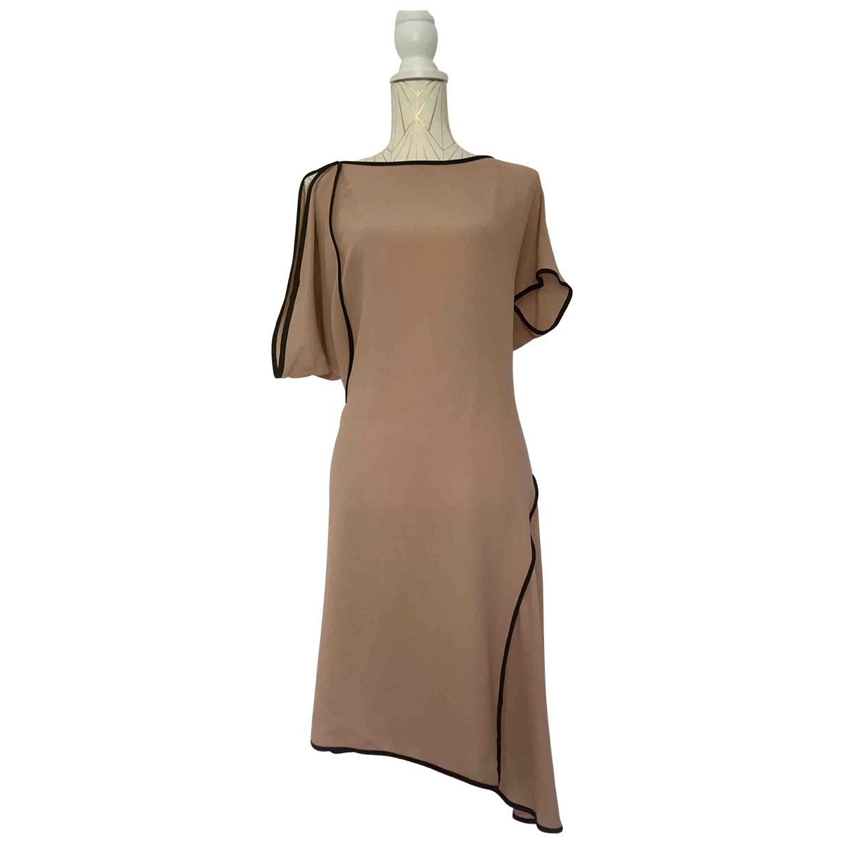 Marni \N Kleid in  Rosa Seide
