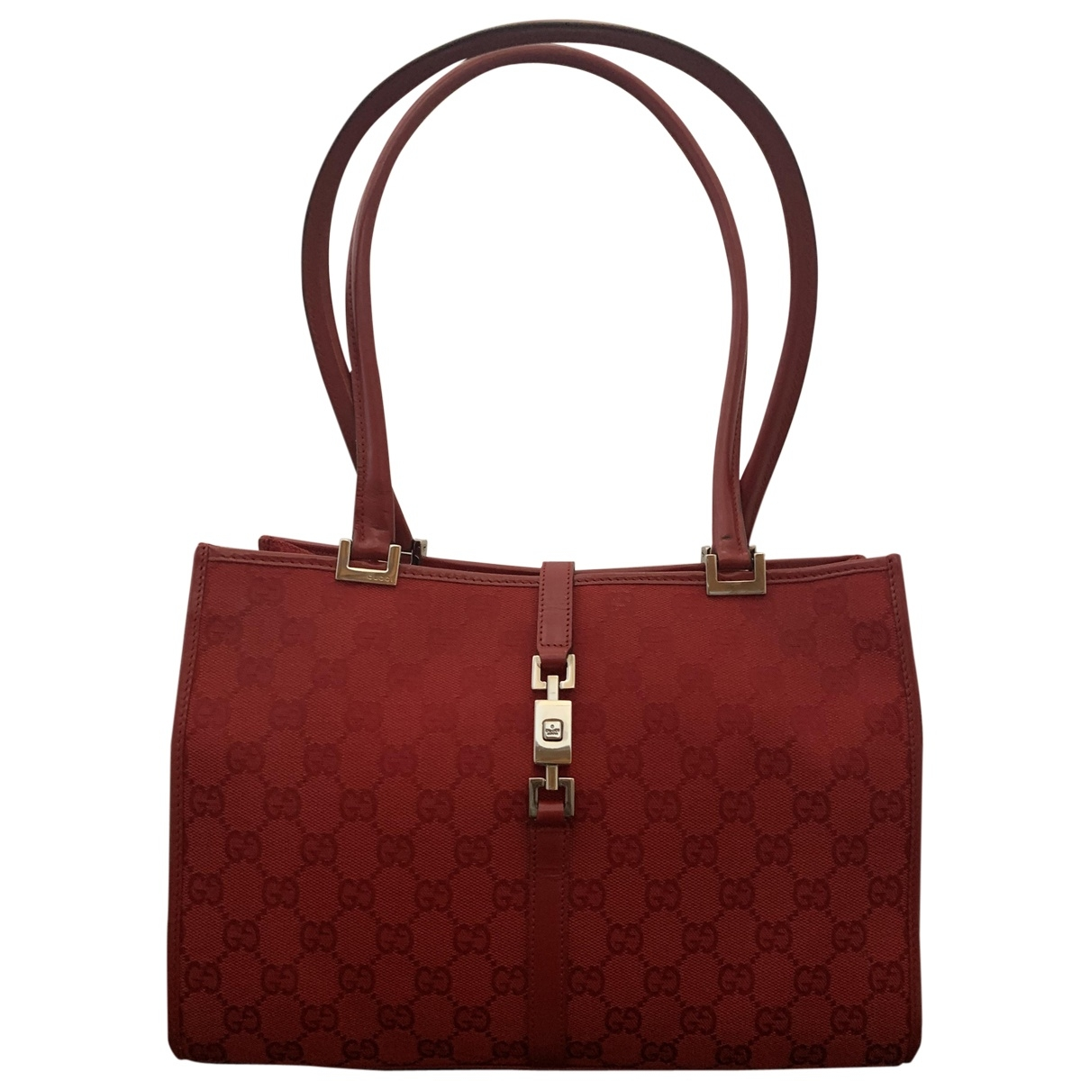 Gucci \N Red Cloth handbag for Women \N