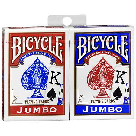 Bicycle Jumbo Playing Cards - 2.0 ea
