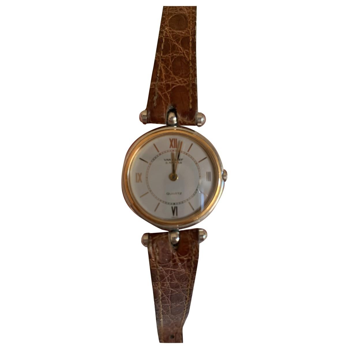 Van Cleef & Arpels \N Uhr in  Silber Vergoldet