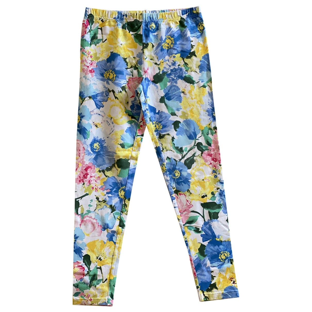 Polo Ralph Lauren \N Multicolour Cotton Trousers for Kids 16 years - M UK