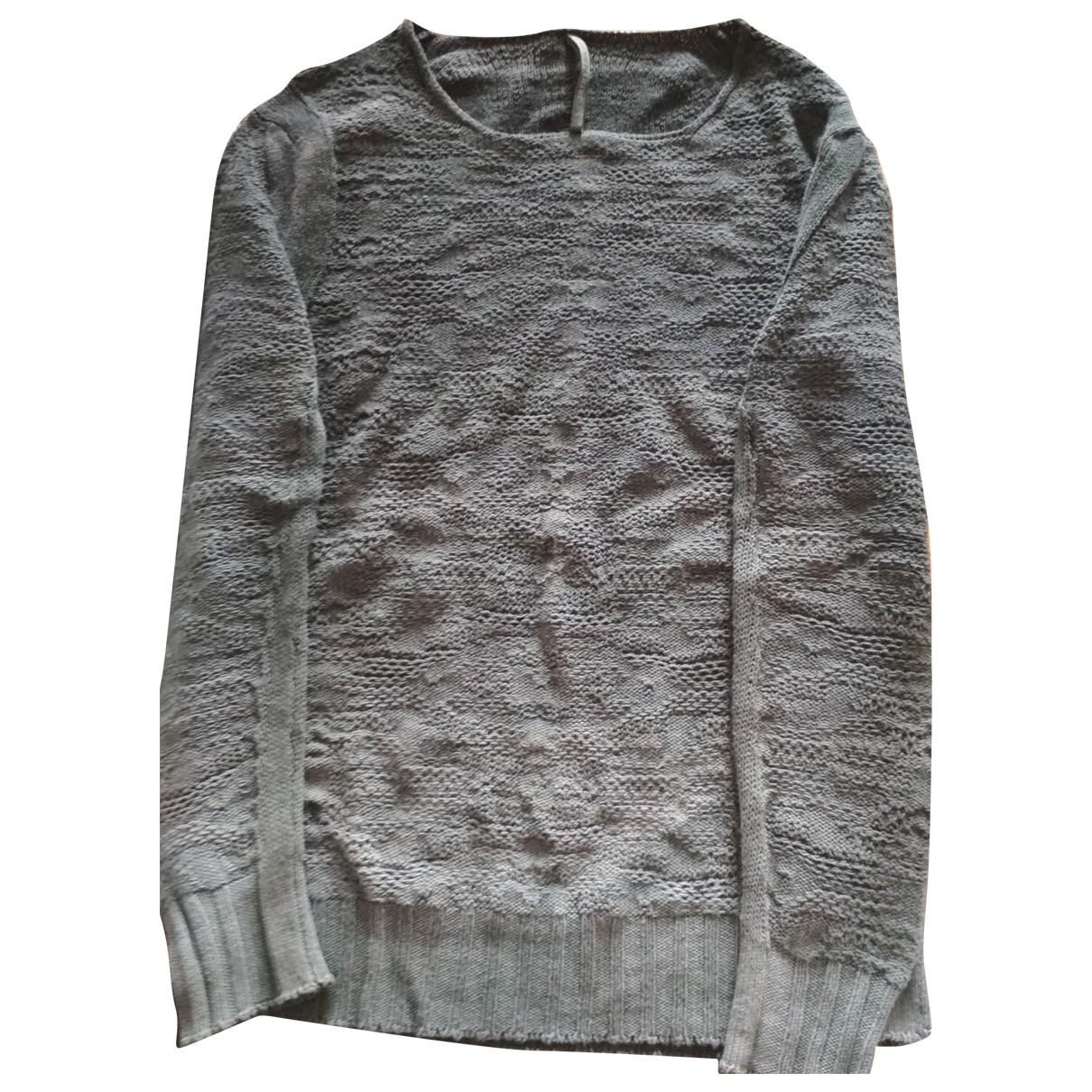 Damir Doma \N Pullover.Westen.Sweatshirts  in  Grau Leinen