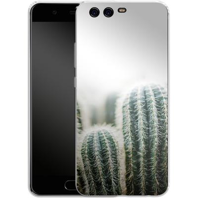 Huawei P10 Silikon Handyhuelle - Cactus 1 von Mareike Bohmer