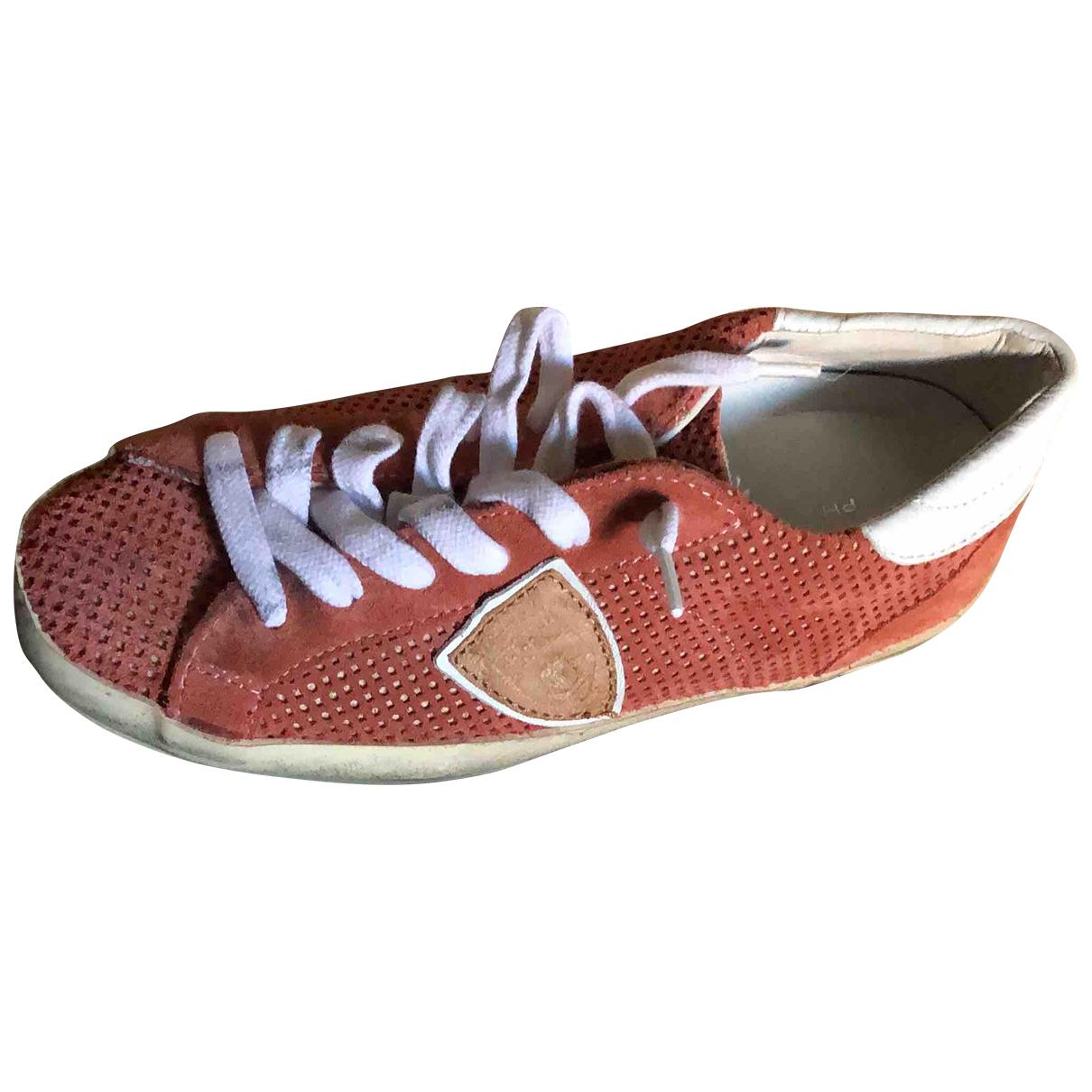 Philippe Model \N Sneakers in Veloursleder