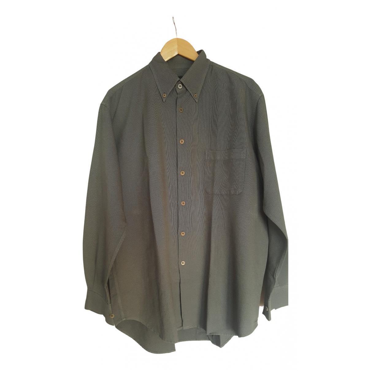 Ermenegildo Zegna \N Hemden in  Grau Baumwolle