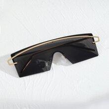 Maenner Randlose Sonnenbrille