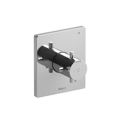 Pallace PATQ47C 3-Way No Share Thermostatic/Pressure Balance Coaxial Complete Valve  in