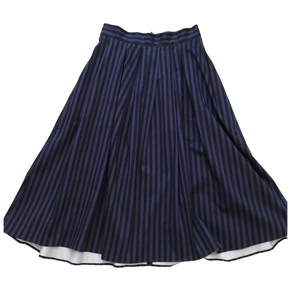 Tara Jarmon \N Purple Cotton skirt for Women 42 FR