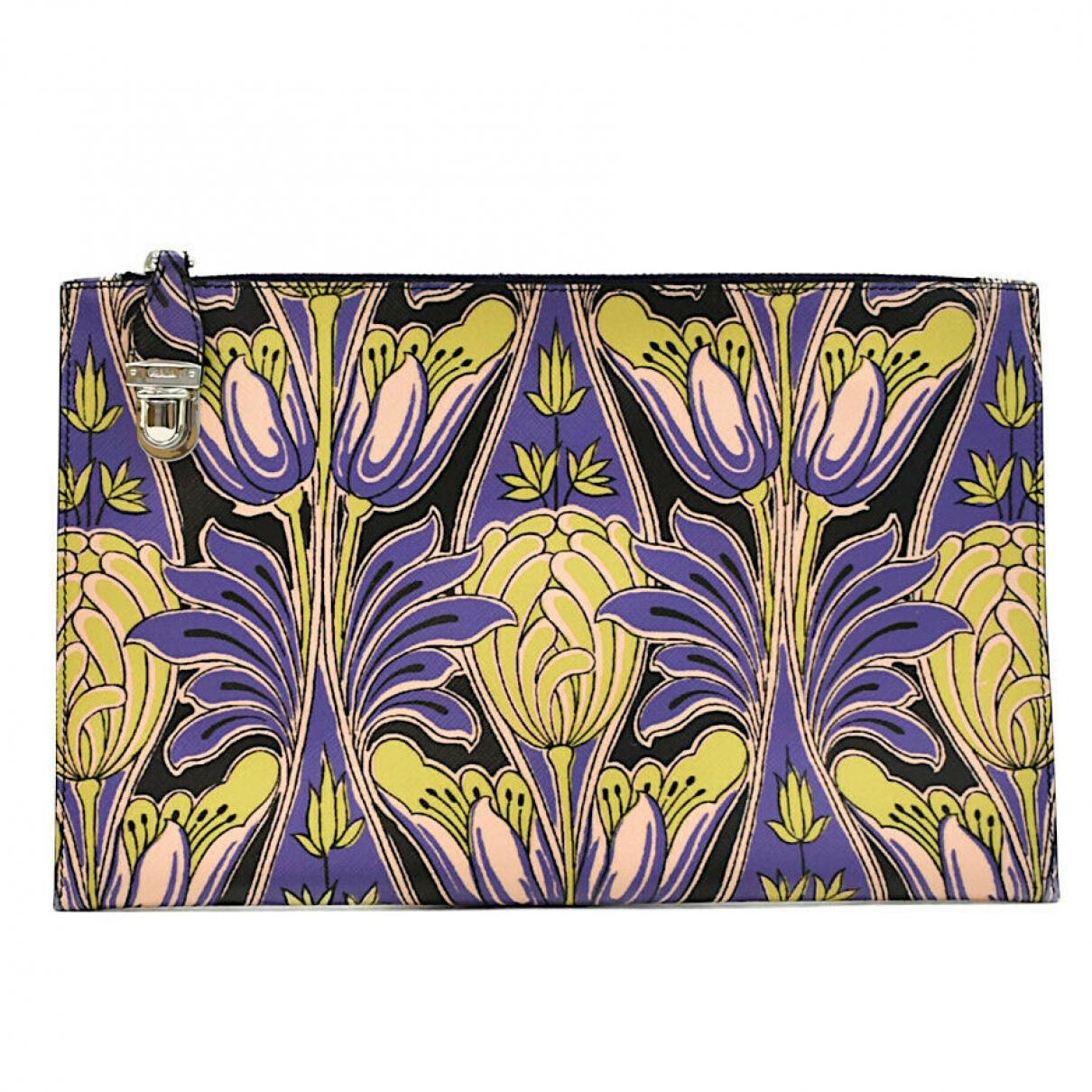 Prada N Leather Clutch bag for Women N