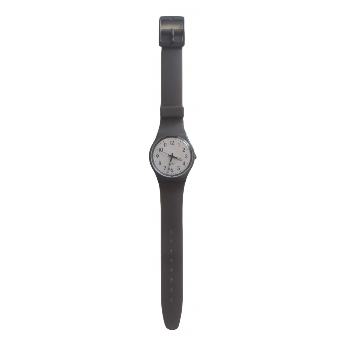 Swatch \N Anthracite watch for Women \N