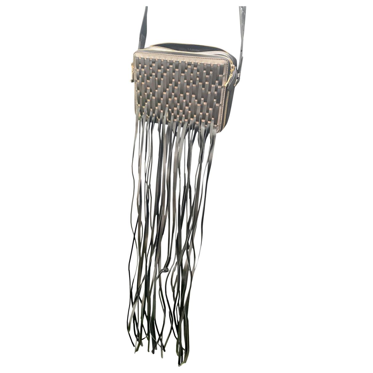 Lanvin N Metallic Leather handbag for Women N