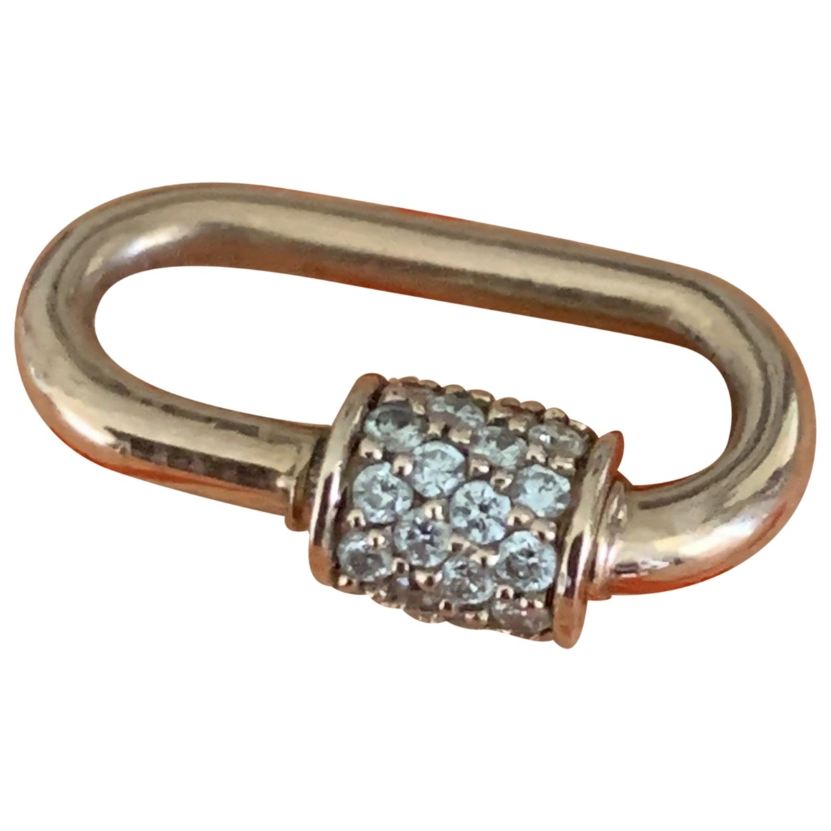 Marla Aaron \N Pink Pink gold pendant for Women \N