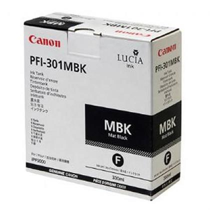 Canon PFI-301MBK cartouche d'encre originale noire mat pigment