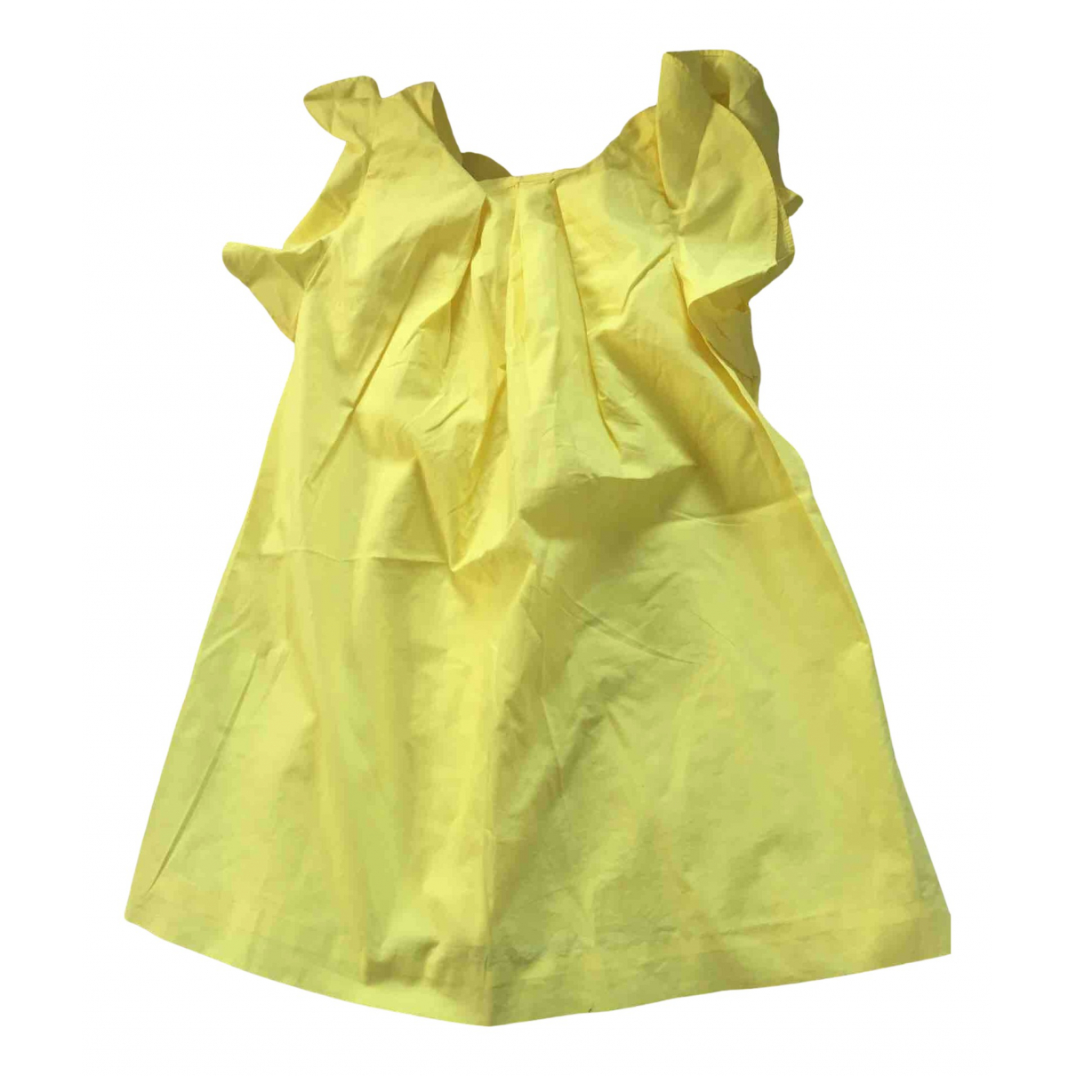 Jacadi - Robe    pour enfant en coton - jaune