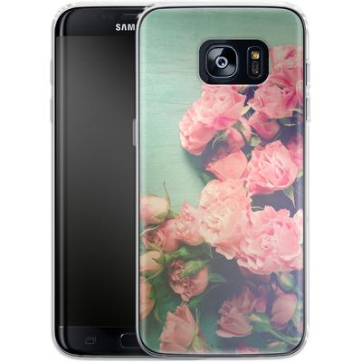 Samsung Galaxy S7 Edge Silikon Handyhuelle - Garden Party von Joy StClaire