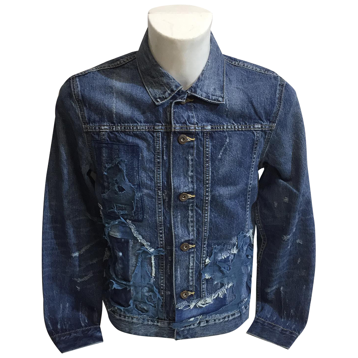 Levis Made & Crafted - Vestes.Blousons   pour homme en coton - bleu