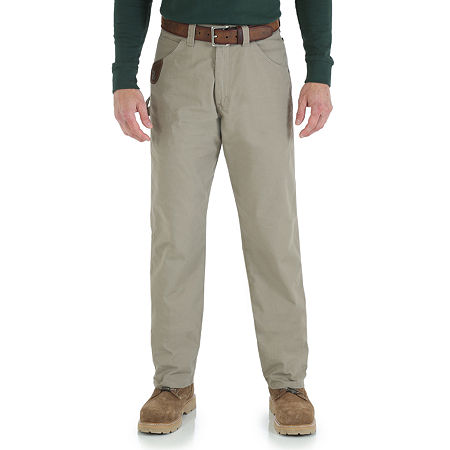 Wrangler/Riggs Workwear Carpenter Jeans, 38 36, Beige