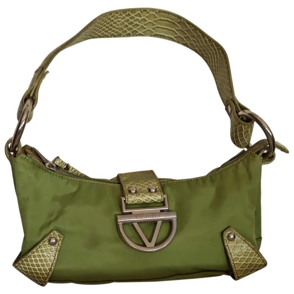 Non Signé / Unsigned N Green handbag for Women N