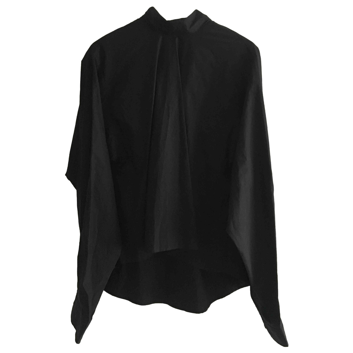 Mm6 \N Black Cotton  top for Women 40 FR