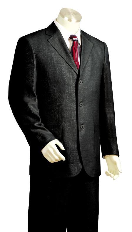 3 Button Fashion Zoot Suit Mens